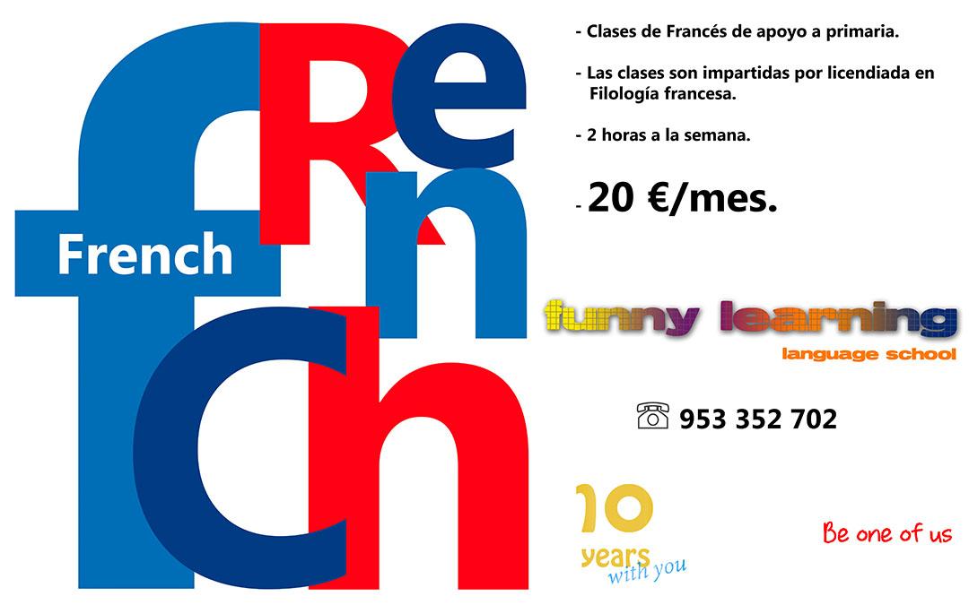 Clases de apoyo a francés de primaria
