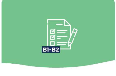 Diferencias entre B1 y B2 de inglés