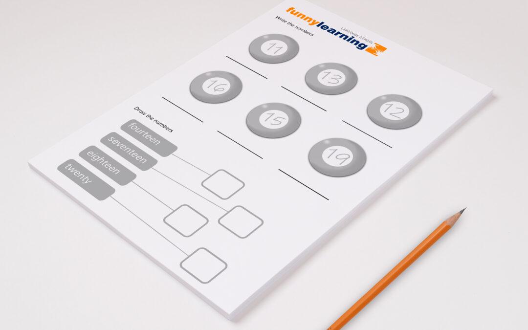 Ficha 4 para primaria  – Worksheet 4